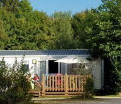 Au Clos de la Chaume campsite: bungalow in the Vosges