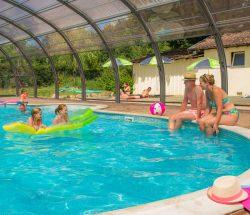 Au Clos de la Chaume campsite: Sites et Paysages campsite Au Clos de la Chaume with pool