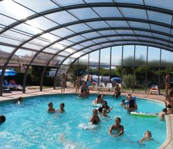 campsite with pool in Corcieux, Au Clos de la Chaume