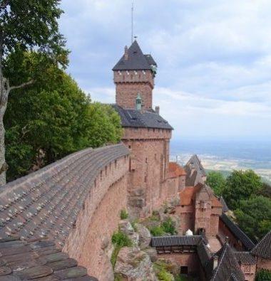 Au Clos de la Chaume campsite: Haut Koenigsbourg Castle Vignette