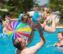 Campsite with pool in the Vosges, campsite Au Clos de la Chaume in Corcieux