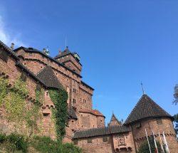Au Clos de la Chaume campsite: Haut Koenigsbourg Castle Exterior View