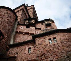 Au Clos de la Chaume campsite: Haut Koenigsbourg Castle Interior View