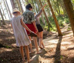 Au Clos de la Chaume campsite: Barefoot Path