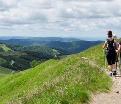 Clos de la Chaume campsite: mountain hiking
