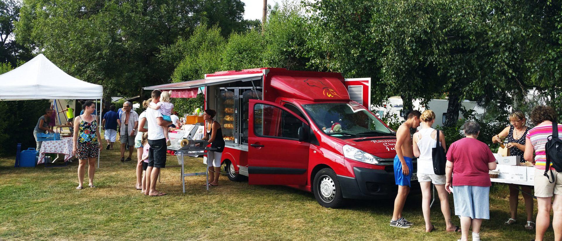Camping Clos De La Chaume : Poulets Rotis en Haute Saison en Camping dans les Vosges
